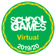 Virtual School Games Logo 19/20