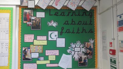 Learning and faiths display